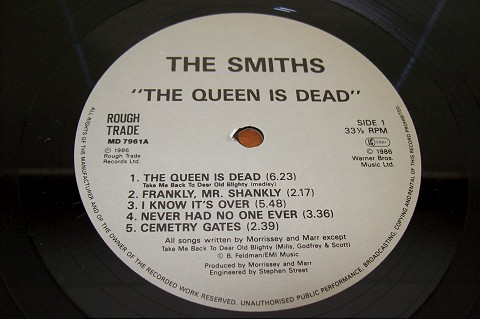 The Queen is Dead no vinil