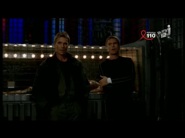 Épisode de Stargate SG-1 diffusé par NRJ12 (capture applications iPad).