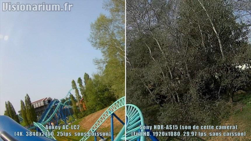 Les arbres s'en sortent également très mal sur ma vieillissante Sony. Cliquez pour agrandir.