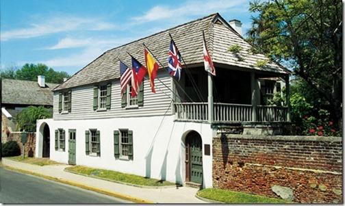 Oldest European House in America : Saint Augustine - Florida