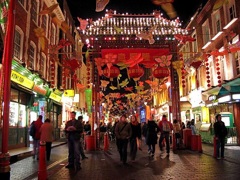 Año Nuevo Chino en Londres