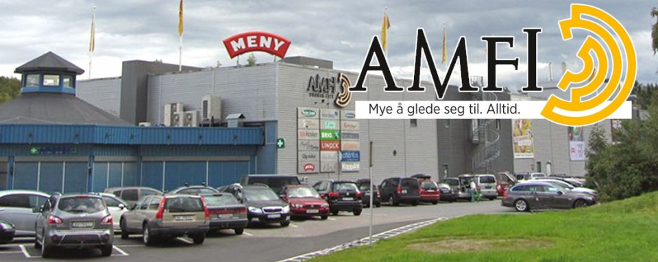 De fleste som kommer til Drøbak passerer kjøpesenteret AMFI Drøbak City på Dyrløkke.