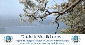 Førjulskonsert med Drøbak Musikkorps @ Smia Flerbrukshus | Akershus | Norge