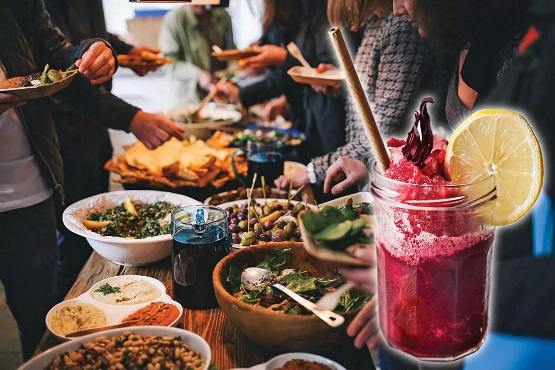 Mye godt å smake på den internasjonale matfestivalen!