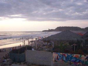 "Montanita, or as I would call it: ""The beach town that never sleeps"" The Sun Route in the Coastal Region of Ecuador © Carmen Cristina Carpio Tobar"