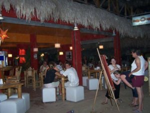 Surfers paradise, the place to party all day and all night!, Montanita never sleeps. The Sun Route in the Coastal Region of Ecuador © Carmen Cristina Carpio Tobar