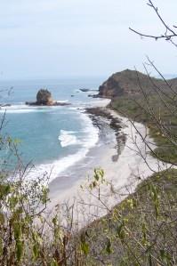View of La Tortuguita, from Los Frailes