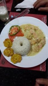 Shrimp with garlic sauce -  al Ajillo
