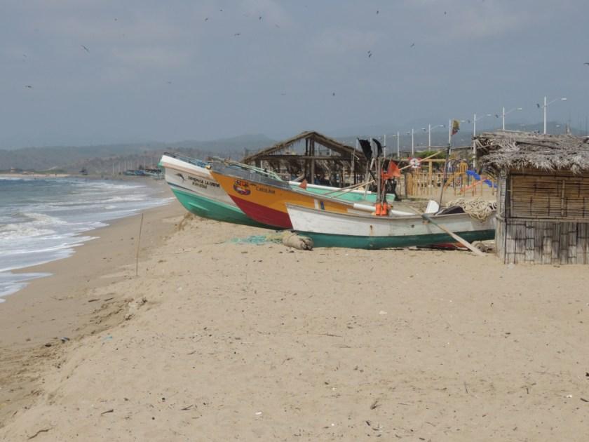 White sand beaches near Guayaquil