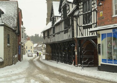 Winter in Much Wenlock