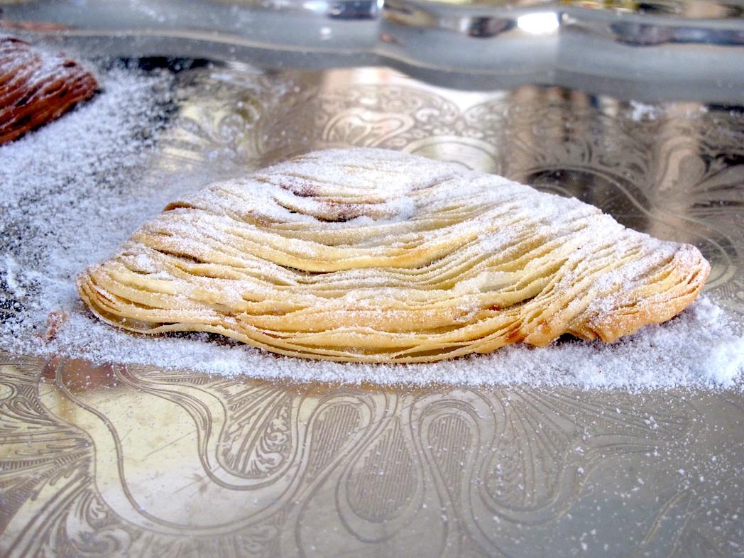 Storie di gusto la ricetta della sfogliatella di lama dei for Aggiunta suocera