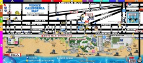 Spend A Day At The Park - Venice beach boardwalk map