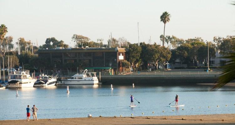 Mother's Beach.  Marina del Rey, Ca