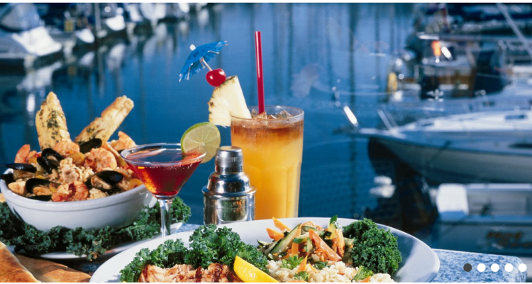 Eat and drink at Tony P's Dockside Grill