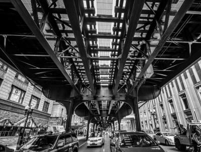 In den Straßen von Chicago