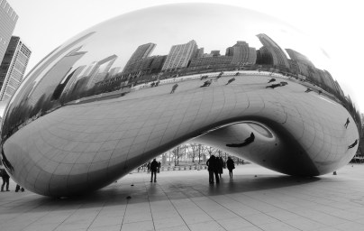 "The Cloud Gate - ""The Bean"""