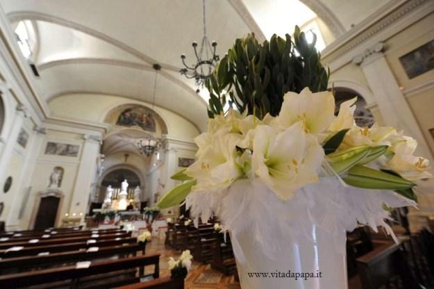 matrimonio in chiesa fiori