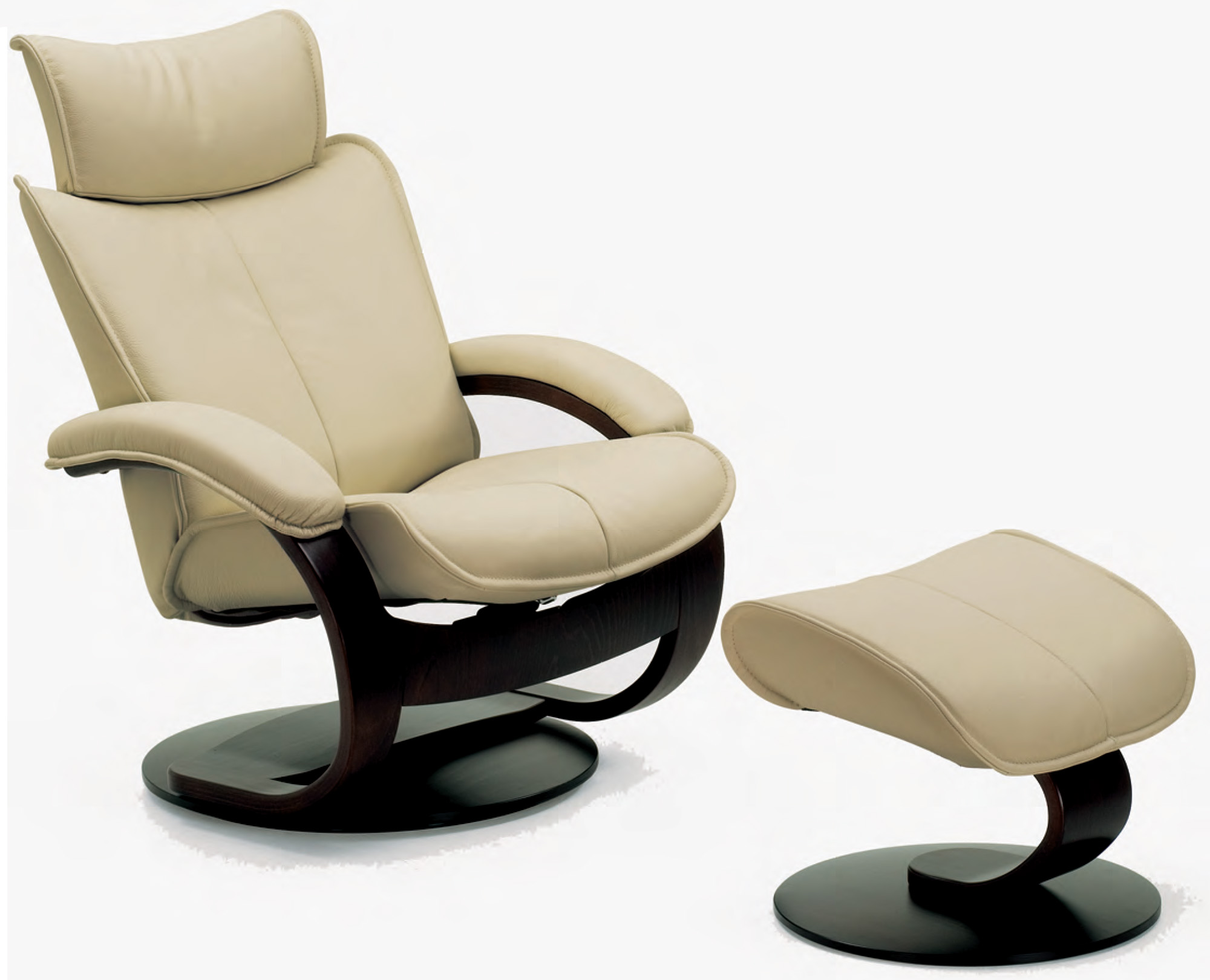 Favorite Ottoman Fjords Ona Ergonomic Lear Recliner Chair Ottoman Scandinavian Lounger Fjords Ona Ergonomic Lear Recliner Chair Ottoman Scandinavian Small Lear Club Chair furniture Small Leather Chairs With Ottomans