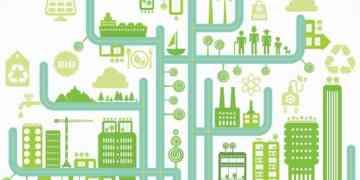Eco city infographic
