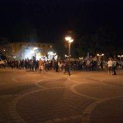 Comunali a Cagliari: non basta regalare panini. Un disastro in piazza San Michele il comizio finale di Massimo Fantola