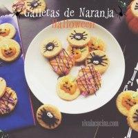 Receta de Galletas de Naranja para este Halloween