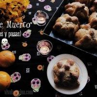 Pan de Muerto con Nueces y Pasas - Receta completa