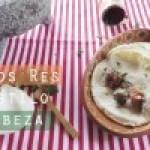 Chambarete de Res estilo Cabeza con Salsa Roja