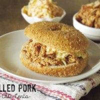 Pulled Pork: Receta en Olla Lenta y Sorteo