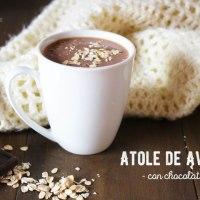 Atole de Avena con Chocolate: Bebida Reconfortante, deliciosa y fácil