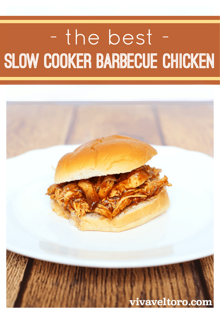 Easy Slow Cooker Barbecue Chicken - Viva Veltoro