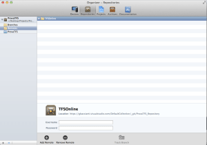 Xcode - Add remote Repository 2