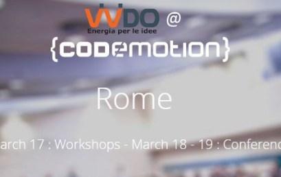 Codemotion 2016 – Roma