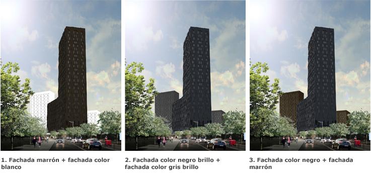 VISESA permite a vecinos y adjudicatarios de una promoción de VPO elegir el color de las fachadas