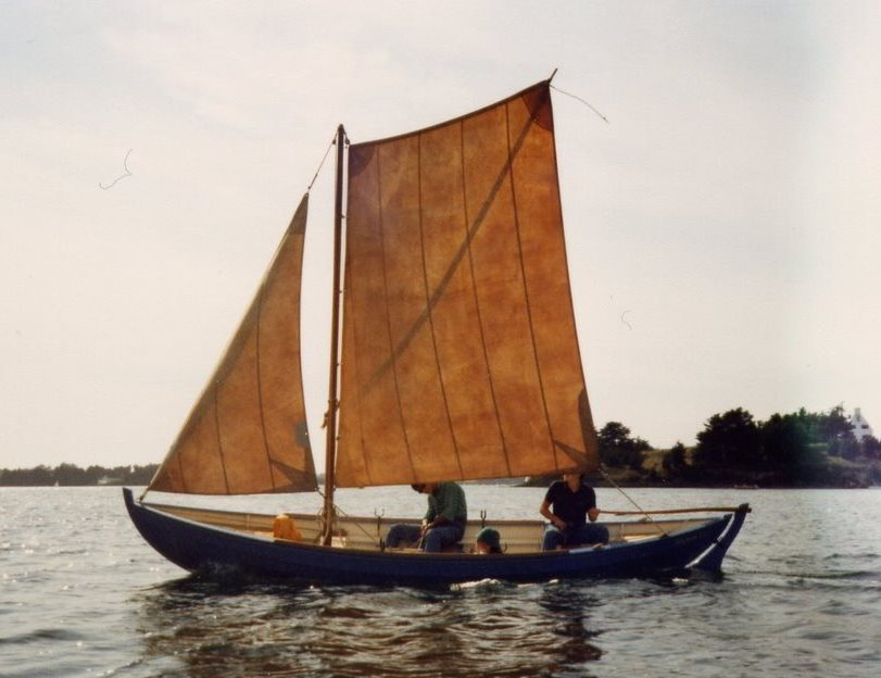 Youkou Lili, le premier voile-aviron personnel de François Vivier