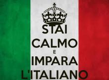 stai a calmo e impara l'italiano
