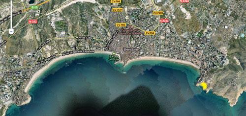 Playa Cala Tío Ximo Benidorm