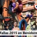 Fallas 2015 en Benidorm
