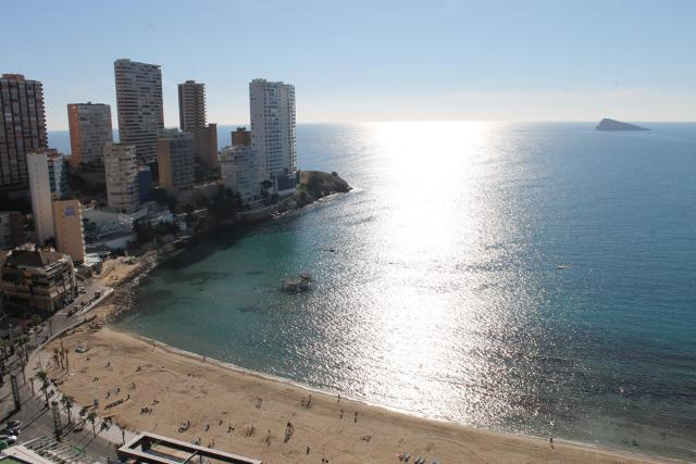 Playa Rincón de Loix en Benidorm