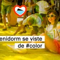Color road en Benidorm