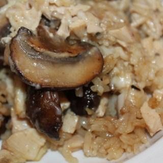 Marsala Chicken and Rice Casserole - www.vixenskitchen.com