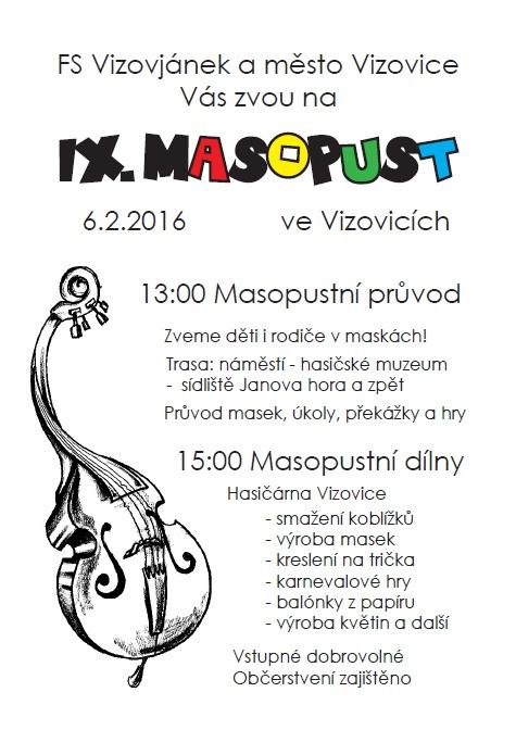 Masopust 2016