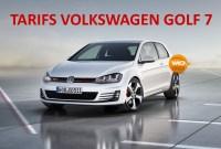 Liste prix Volkswagen Golf 7