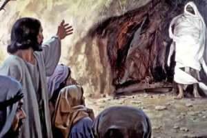 a ressusceição de Lázaro