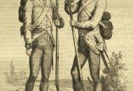 soldați de infanterie austro ungara la 1860