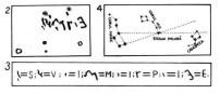 """Între cele patru """"stele"""" dispuse în formă trapezoidală se află scris prin săpare, în corpul dur al toporului, cu litere asemănătoare"""