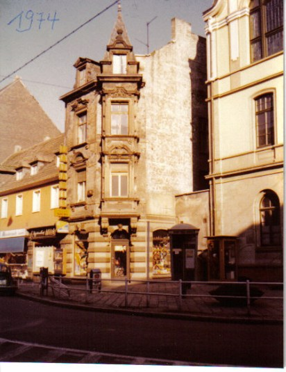 1974 Fahrrad Koerner Rathausstrasse © Strempel
