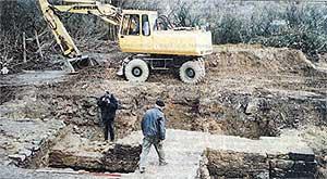 Fotos aus der Saarbrücker Zeitung von 2000 (Sammlung BI)