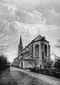 St. Josef; 1954 (Bild: Stadt Völklingen).