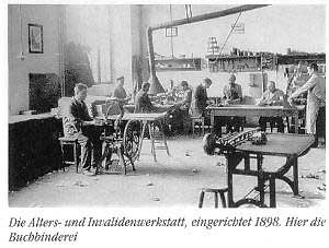Invalidenwerkstatt (Sammlung Heimatkundlicher Verein Warndt)