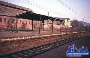 Bahnhofdach in Hostenbach © Jörg Klawitter
